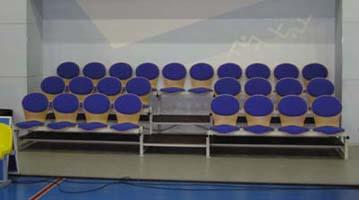Кресло для зрителей полумягкое «Комфорт»